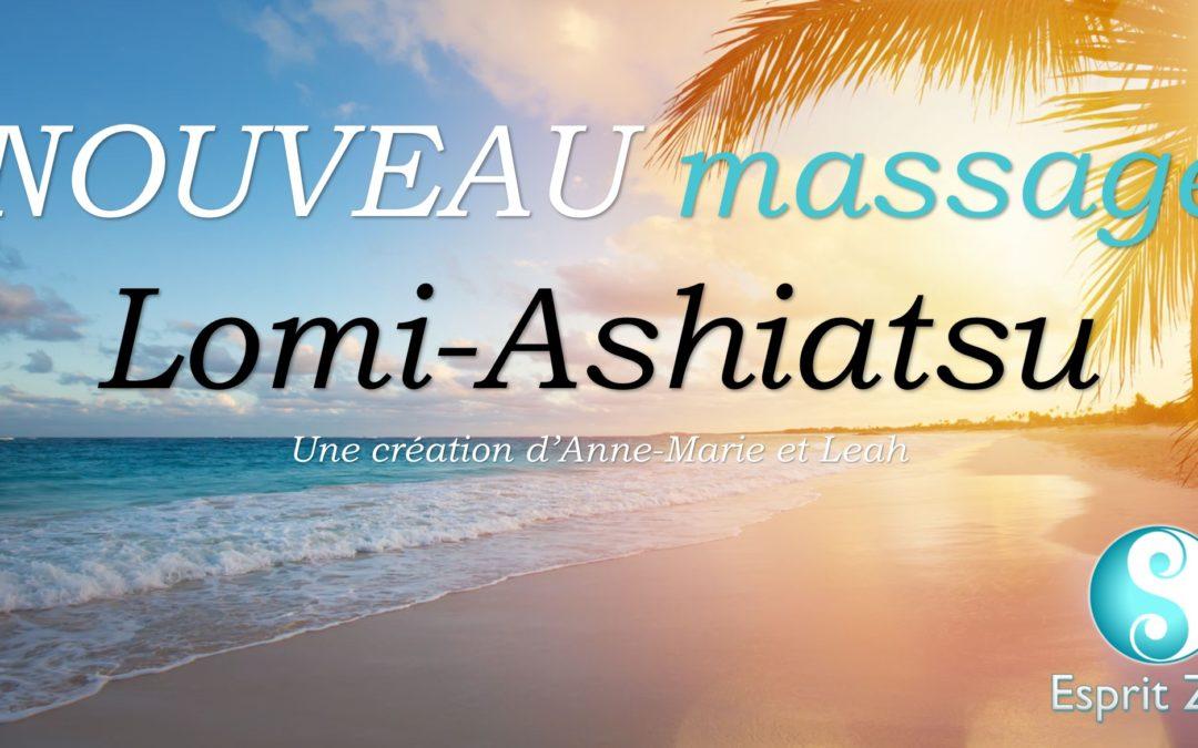 La nouvelle table de massage Nomad pro électrique (lomi-ashiatsu)